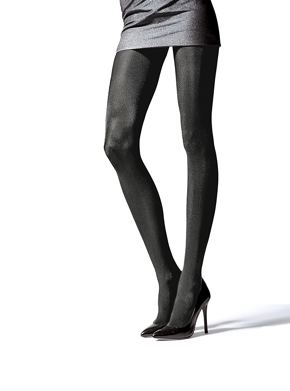 a346bf89f683f ... Glossy Metallic Shiny Silver Gold Graphite Grey Black Evening Prom  Thicker New Year Party Plus Size Tights Pantyhose Hosiery T45:  Amazon.co.uk: Clothing