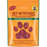 Pet Munchies 100 Percent Natural Duck Fillet, 80 g (Pack of 8)