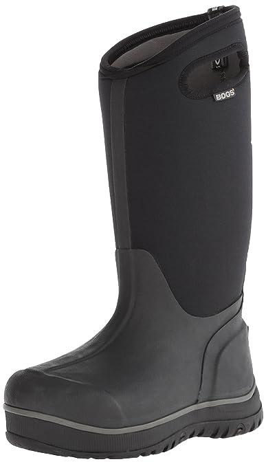 Bogs Classic Ultra 51537, Unisex - Erwachsene Gummistiefel mit hohem Schaft, schwarz, 42 EU/8 UK