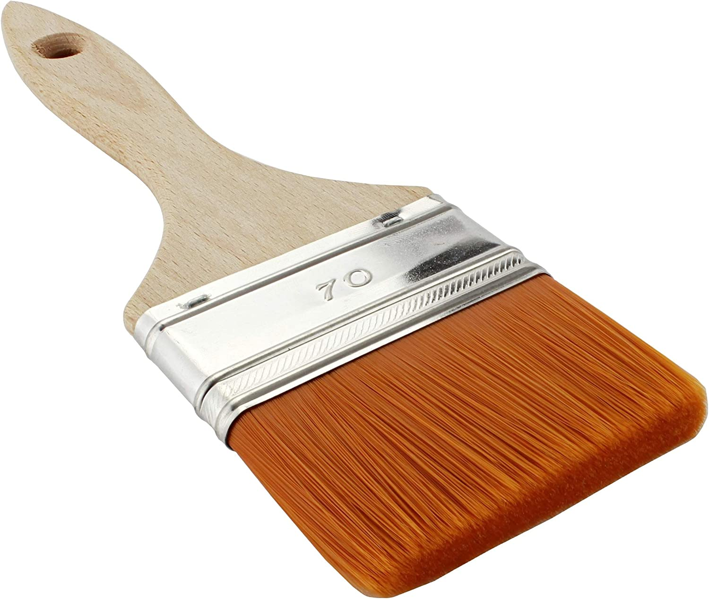20 60/y 70/mm resina Arrastre Gel/ /Brocha Pinceles de cerdas 50 40 Brocha plana/ /MKK/® 30