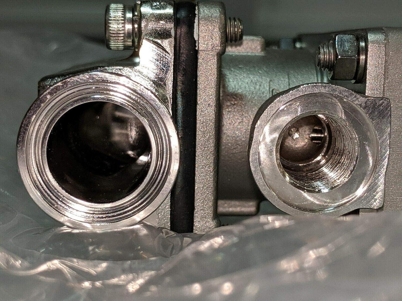 labtechsales Gemu 640020D8040131-0-1537 Valve Actuator /& 3//4 Sanitary Tri-Clamp Valve Body
