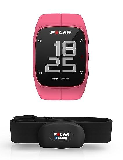 Polar M400 - Reloj de Entrenamiento con GPS Integrado y Registro de Actividad con Sensor de frecuencia cardíaca H7