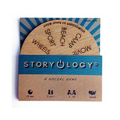 Storyology®, The Social Game (12 topics/travel size)
