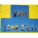 Pippi Langstrumpf 12 Figuren Besatzung Hoppetosse