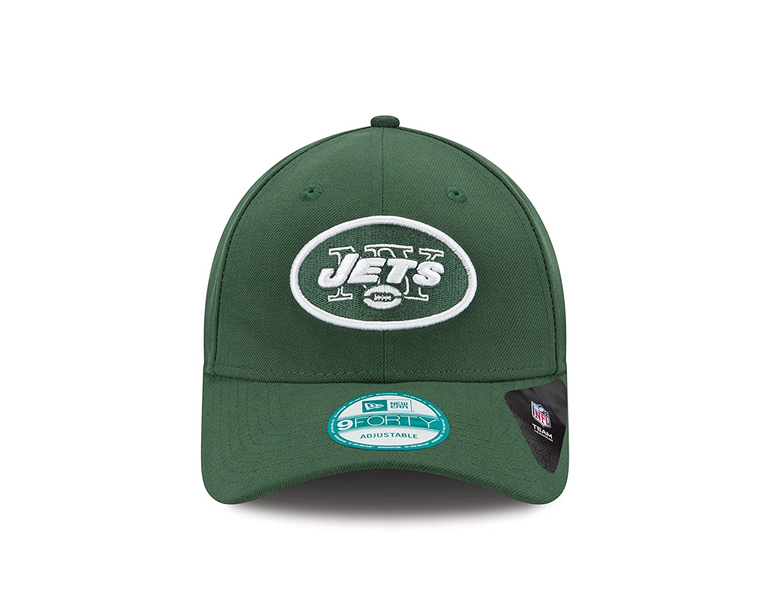 finest selection 8a665 bfd6a New Era Men s 9forty New York Jets Baseball Cap, Green (Team), One Size   Amazon.co.uk  Clothing