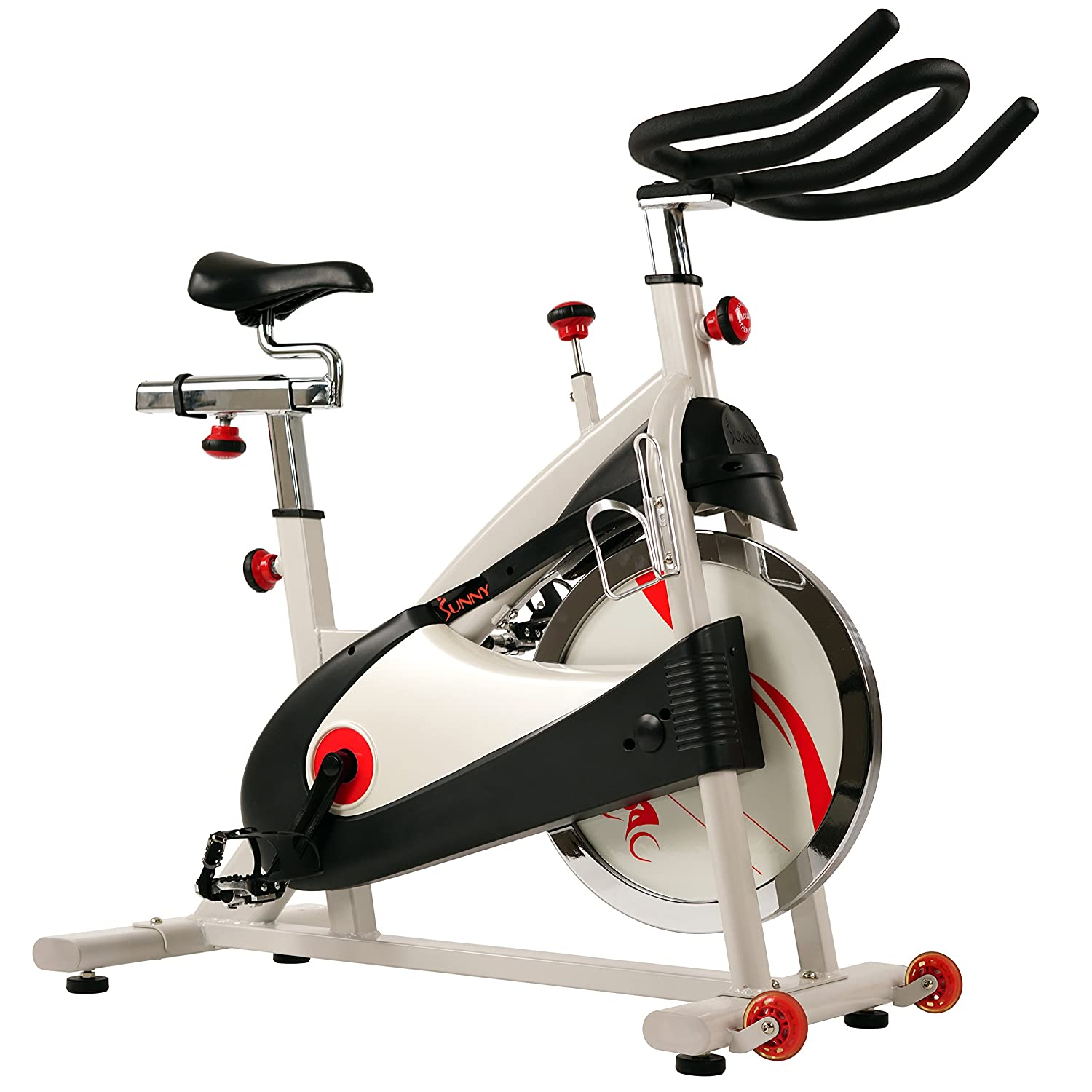 Sunny Health & Fitness Exercise Bike Premium Indoor Cycling