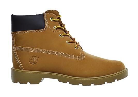 Amazon: Timberland Big Kids 6 Inch Basic Waterproof Boots Wheat 10960:  Shoes