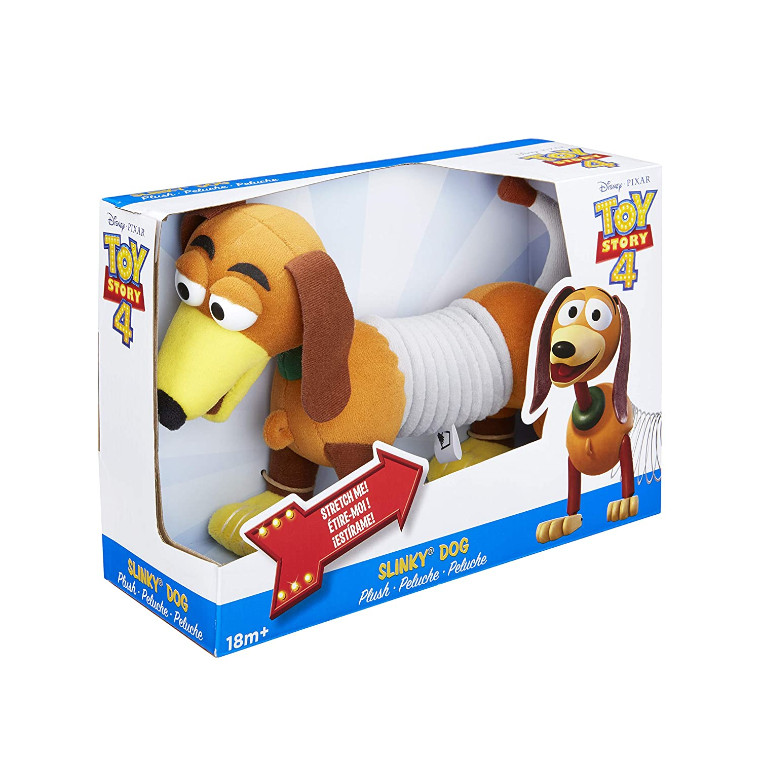 Slinky Disney Pixar Toy Story 4 Plush Dog