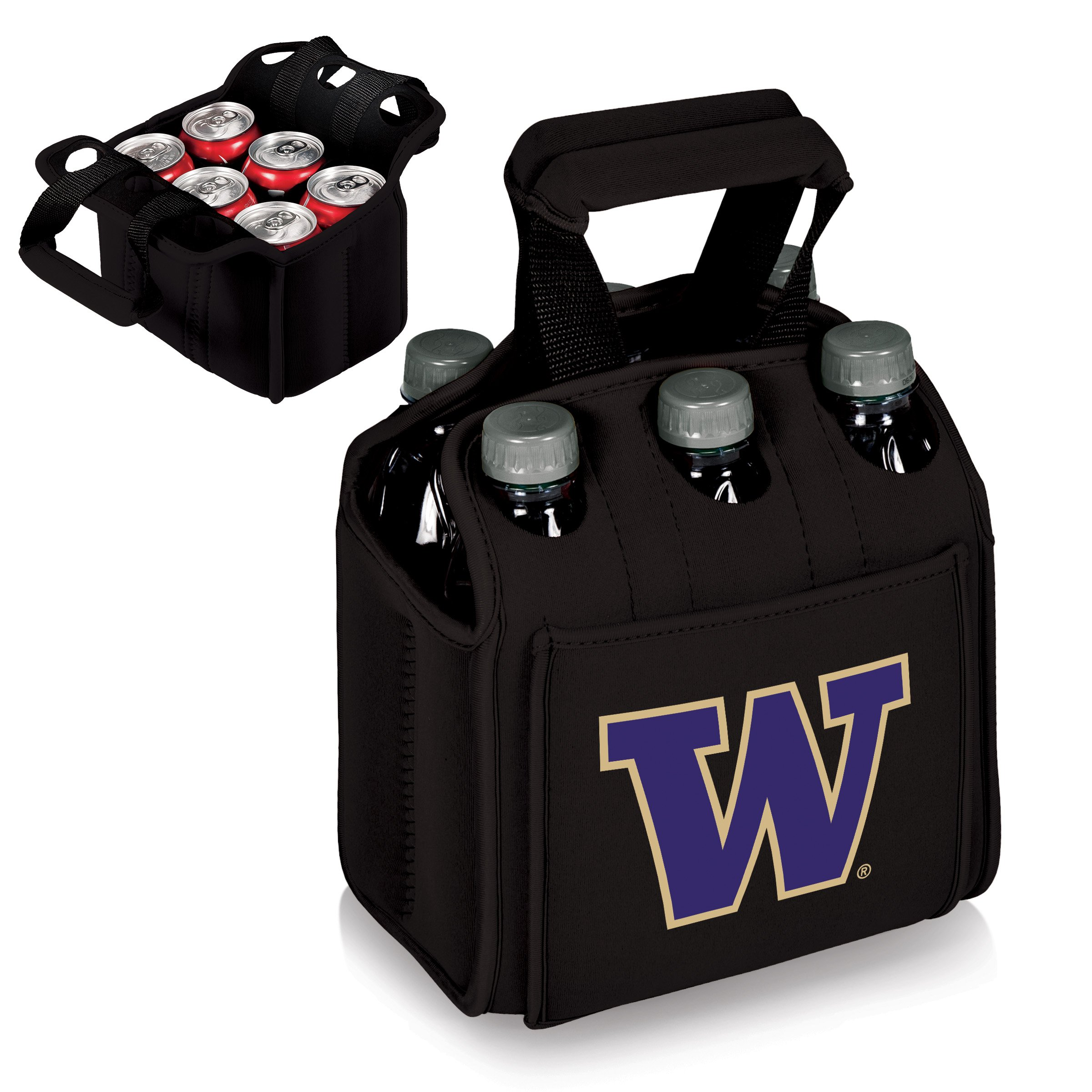 PICNIC TIME NCAA Washington Huskies Six Pack Cooler Tote by PICNIC TIME (Image #2)