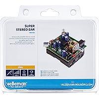 Velleman MK136 Super Stereo Ear Mini Kit, Flerfärgad
