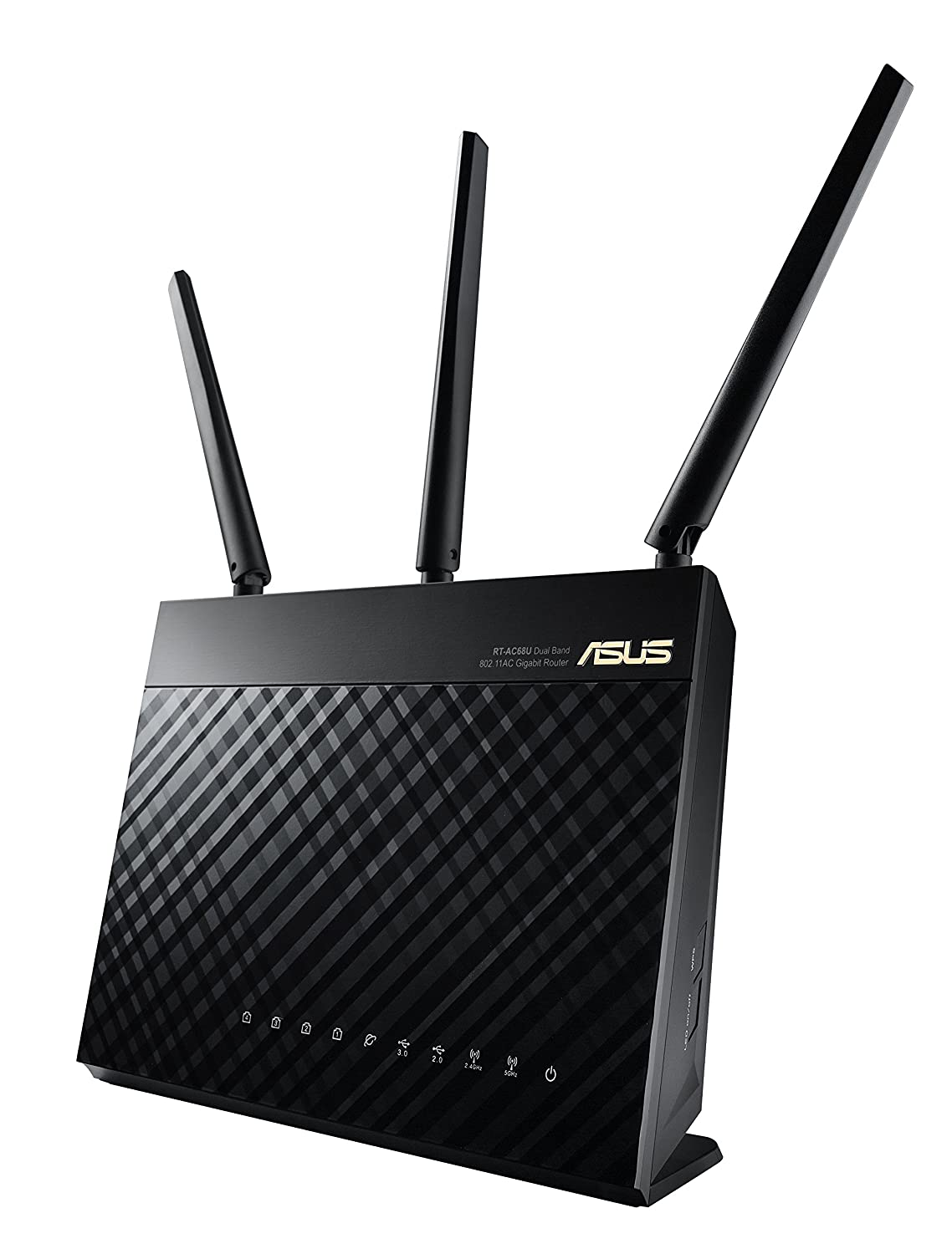Asus Rt Ac68u Ac1900 Dual Band Gigabit Wireless Router Ai Mesh Nas Setup Wired Network Diagram Access Point Mode Twin Usb 30 For Media Server 3g 4g Dongle Support