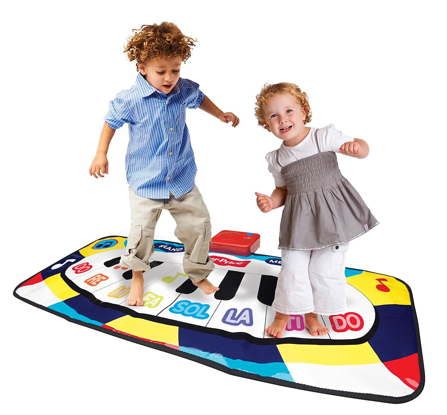 Fisher Price KFP2092 Dancing Tunes Music Mat Toy by Fisher-Price: Amazon.es: Juguetes y juegos