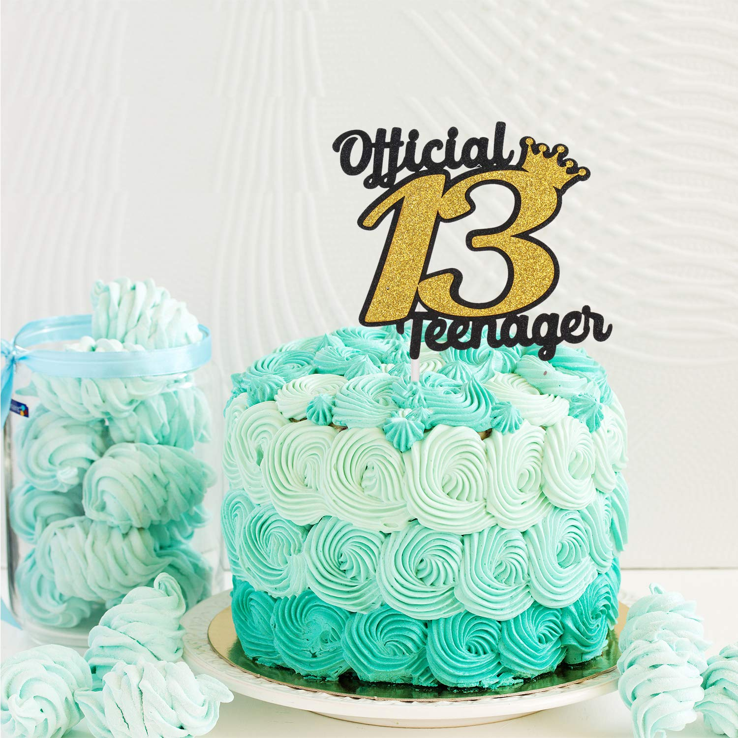 Strange Official Teenager 13 Birthday Cake Topper Boys Girls Fabulous Funny Birthday Cards Online Alyptdamsfinfo