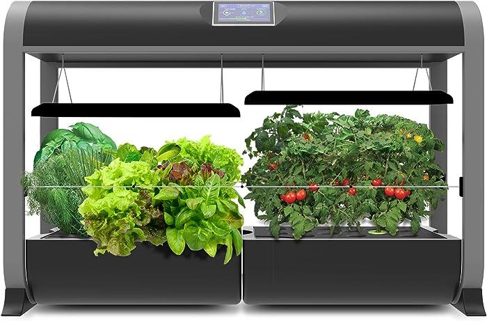AeroGarden Farm 24Basic, w/Salad Bar Seed Kit, Black