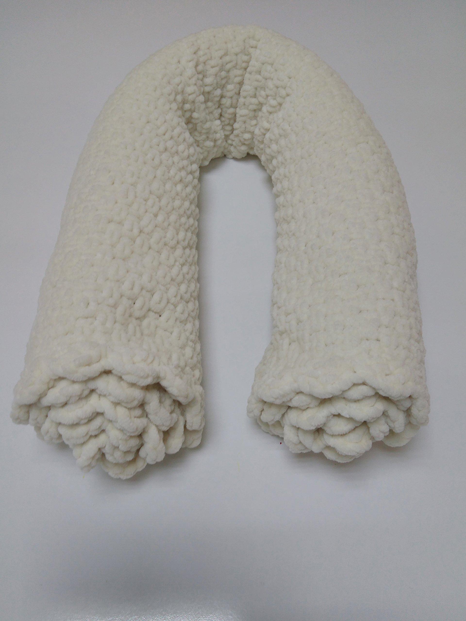 FIGUR Baby Hand Knitted Velvety Baby Blanket 80x90