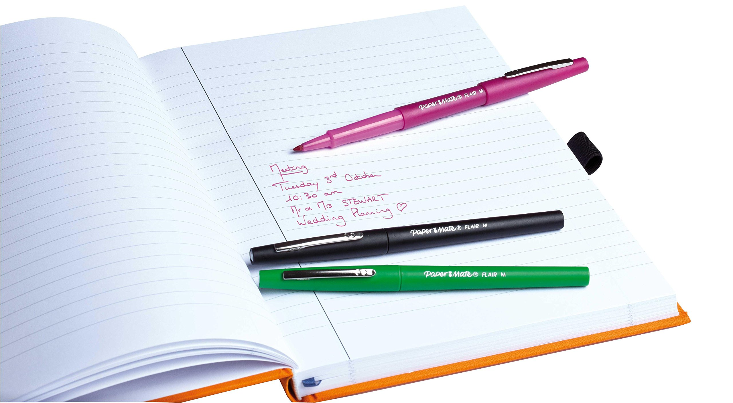 Paper Mate Flair Felt Tip Pen, Medium Point, Sky Blue, 1 Pen by Paper Mate (Image #4)