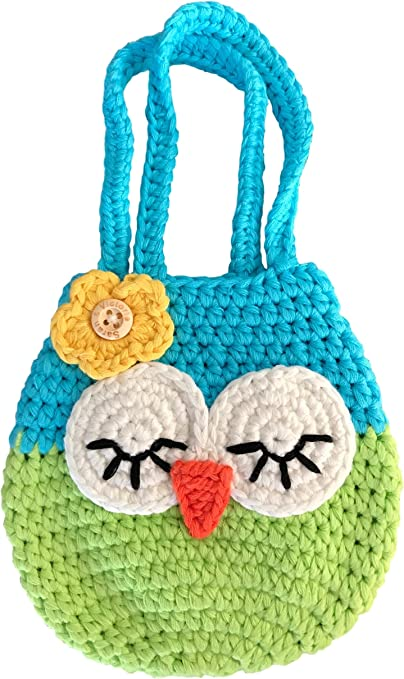HANDMADE CROCHET KNIT PURSES//HANDBAGS-MANY STYLES TO CHOOSE FROM-OWL CROCHET
