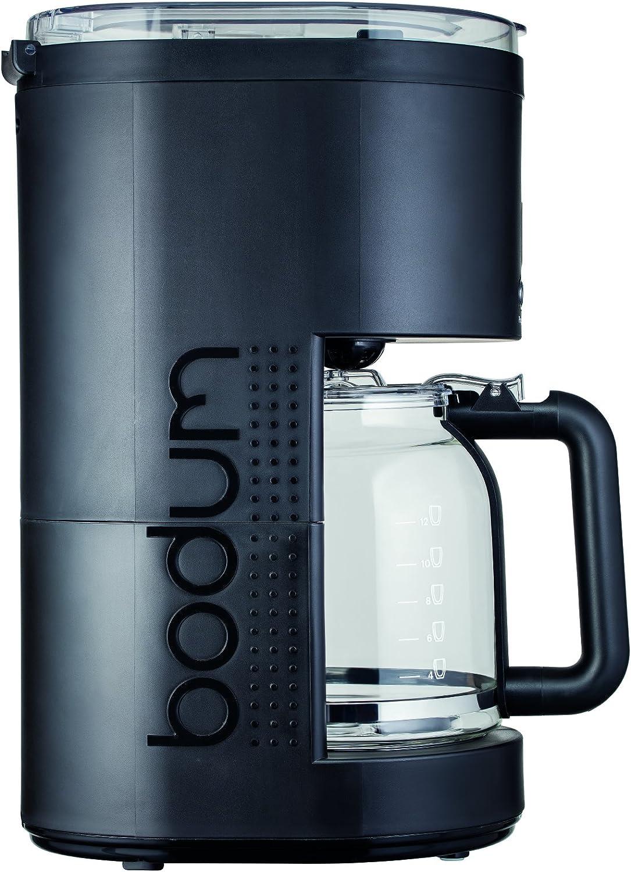 Bodum - 11754-01EURO - Bistro - Cafetera eléctrica programable 12 tazas - 1.5 l - color negro: Amazon.es: Hogar