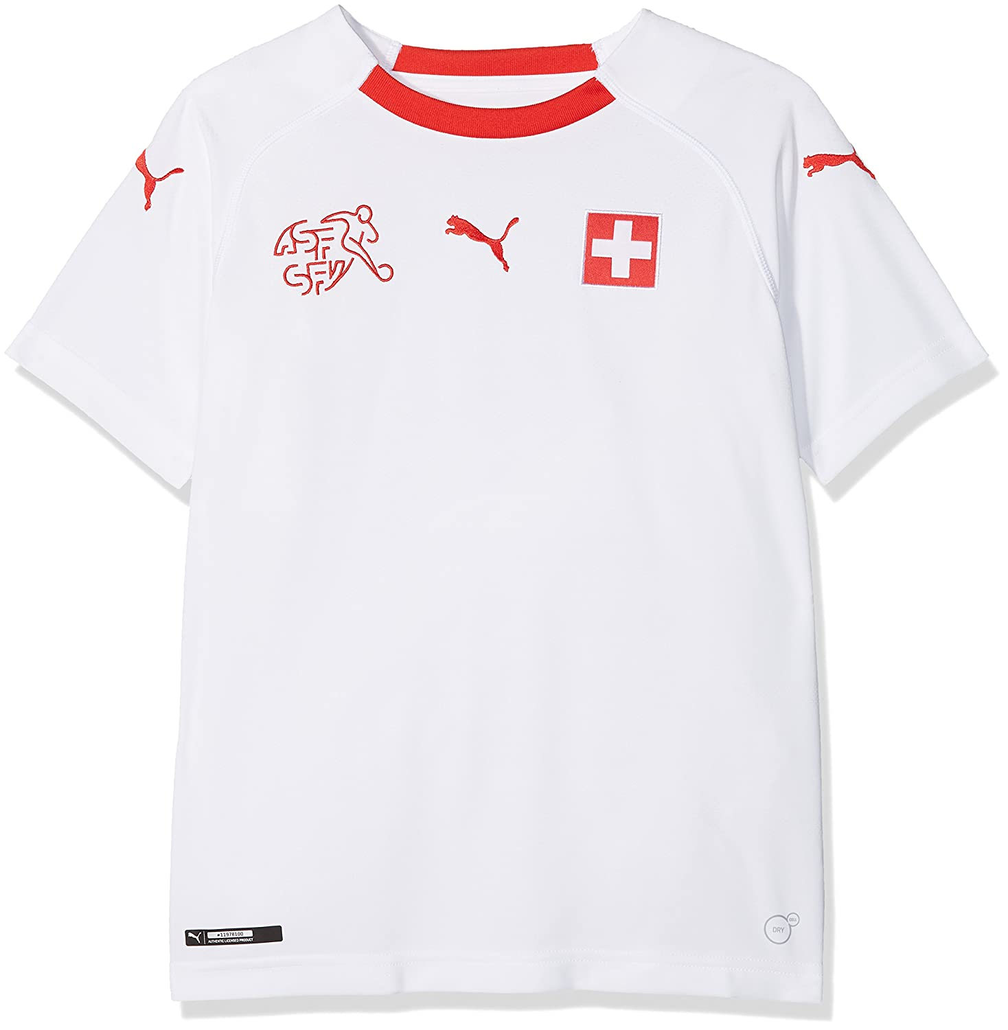 Puma Kinder Suisse Kids Away Replica Shirt