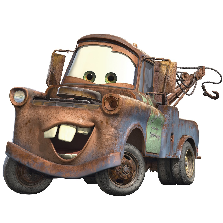 Disney Pixar Cars 2 Lightning McQueen /& Mater Peel and Stick Giant Wall Decal Bundle RMK
