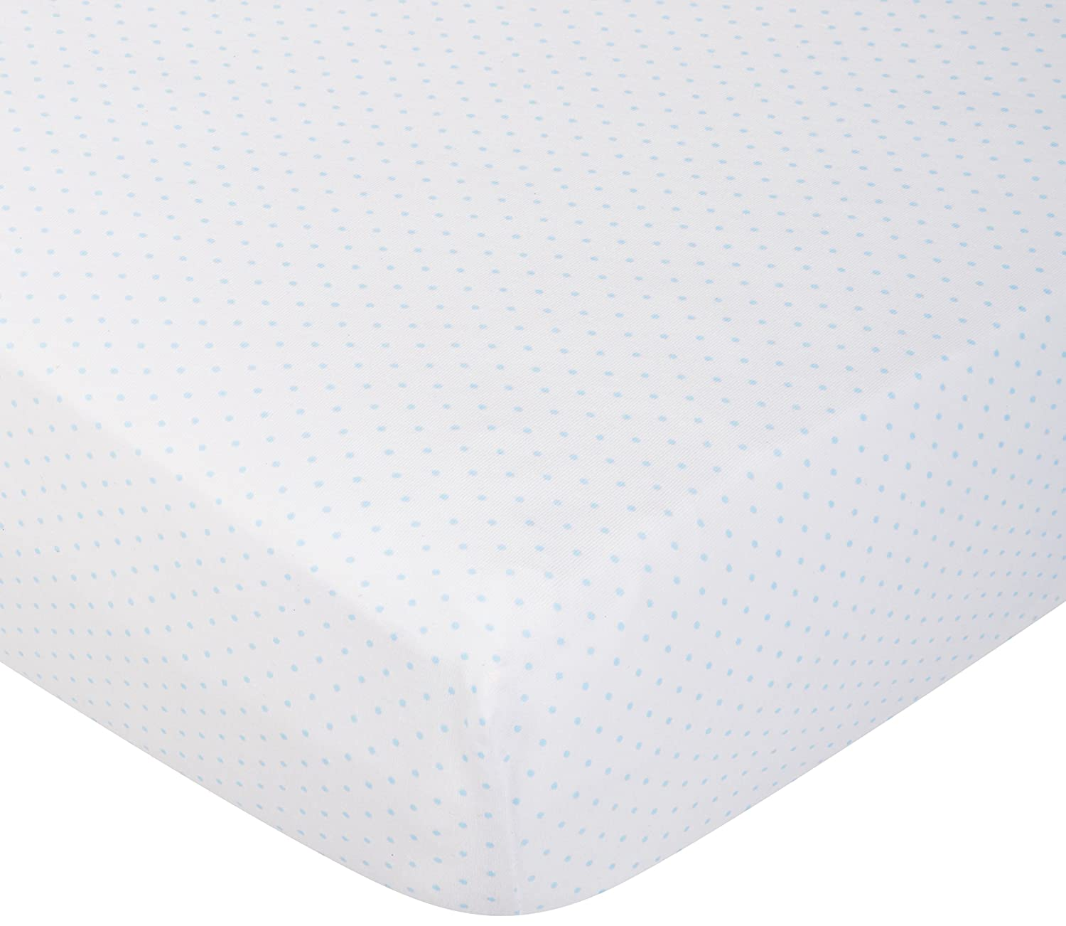 SheetWorld Fitted Portable / Mini Crib Sheet - Grey Pindot Jersey Knit - Made In USA PC-GD