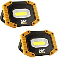 CAT Gato LED Recargable Luz de Trabajo, 500 Lumens / 2 Pack