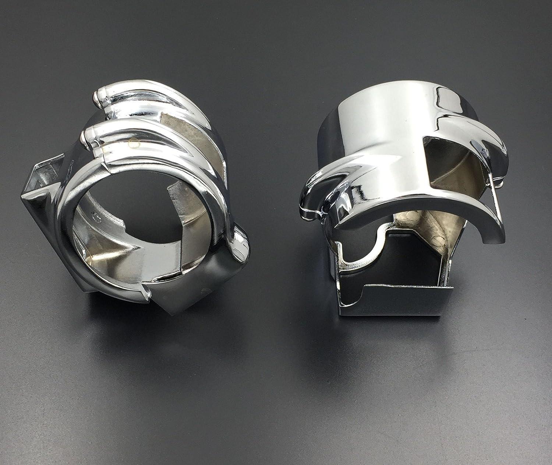 Copertura per interruttore cromato per tutte le Honda Shadow VT 600 VLX VT 750 Spirit ACE Aero //2003-2009 Honda Shadow VTX 1300//2010-2013 Honda Shadow VT1300 HTT