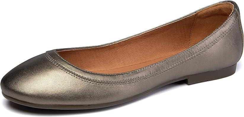 Women's Ballet Flats Lambskin Loafers