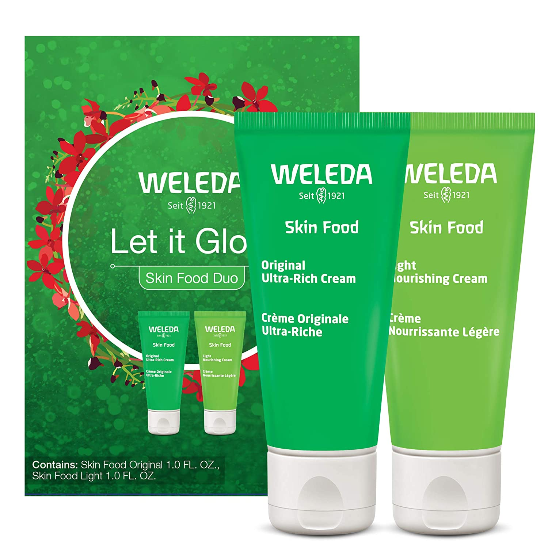 WELEDA Let It Glow Skin Food Duo Gift Set, 1 EA