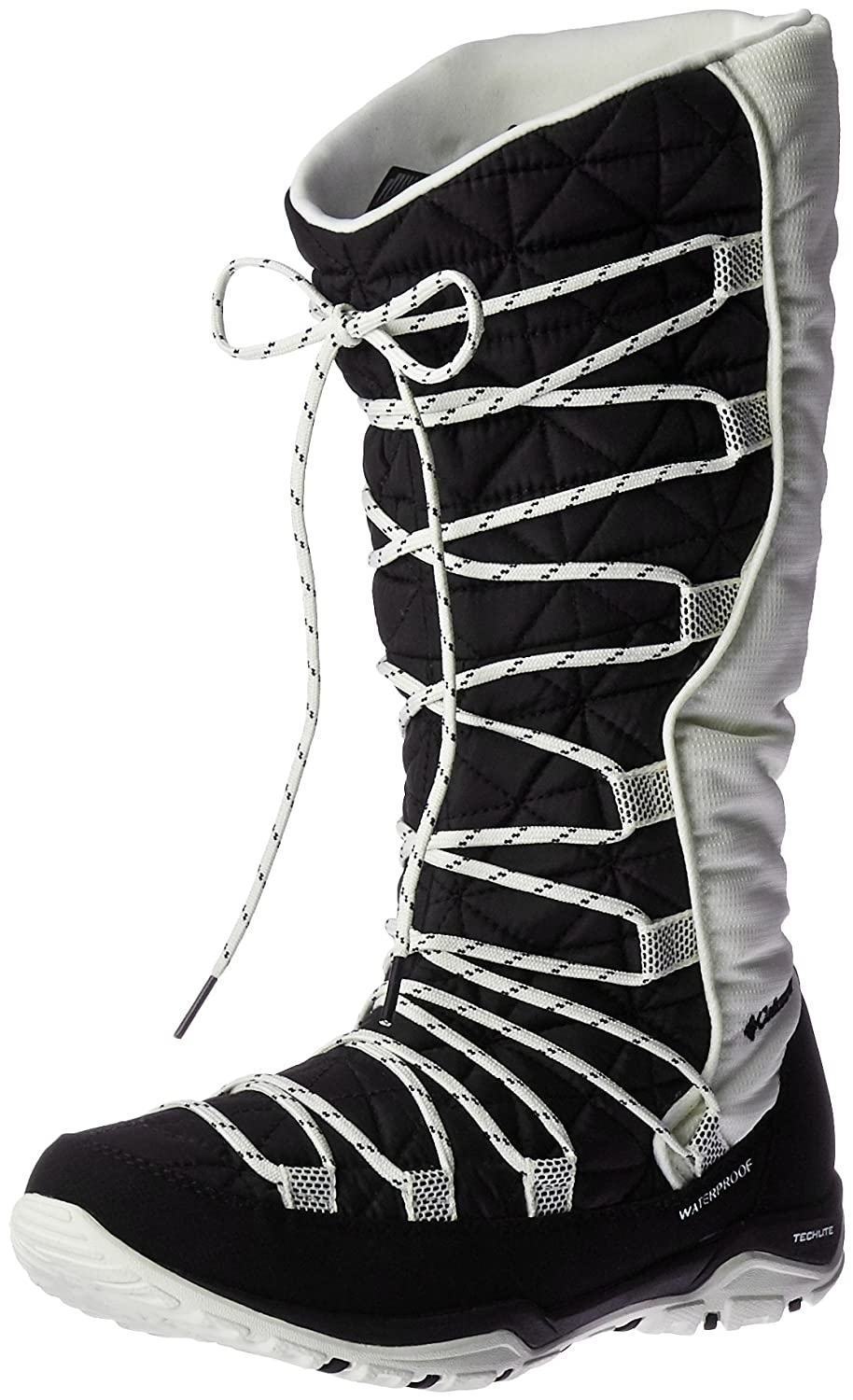 Columbia Women's Loveland Omni-Heat Snow Boot B0183O1D64 10 B(M) US|Black/Sea Salt