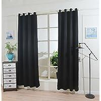 Ihomeworld Grommet Blackout Curtains for Bedroom