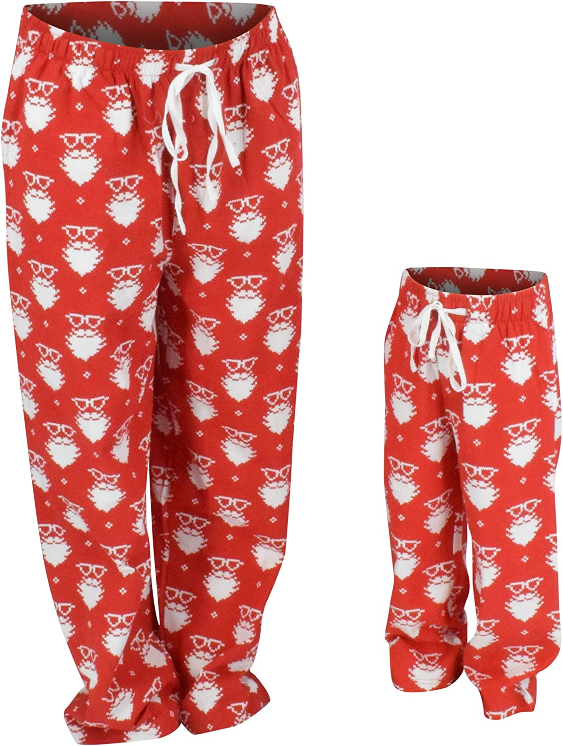 UB Christmas Santa Matching Family Pajama Pants