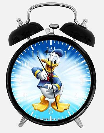 disney office decor. Disney Donald Duck Alarm Desk Clock 3.75\u0026quot; Home Or Office Decor E118 Nice I