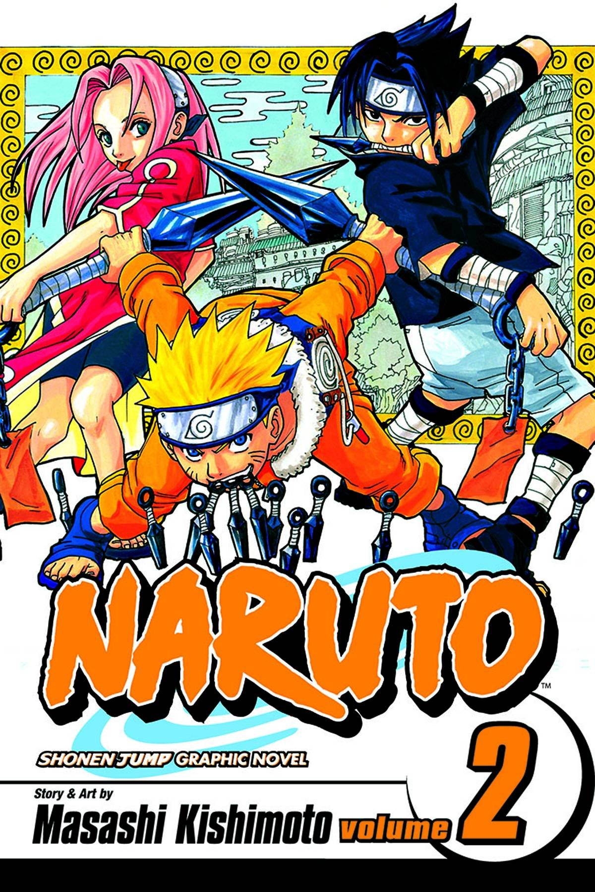 Image result for naruto vol. 2