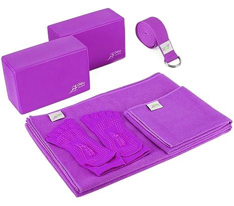 Amazon.com   Go Go Active Yoga Accessories Set - Includes 2 Yoga ... cae685dd41ed