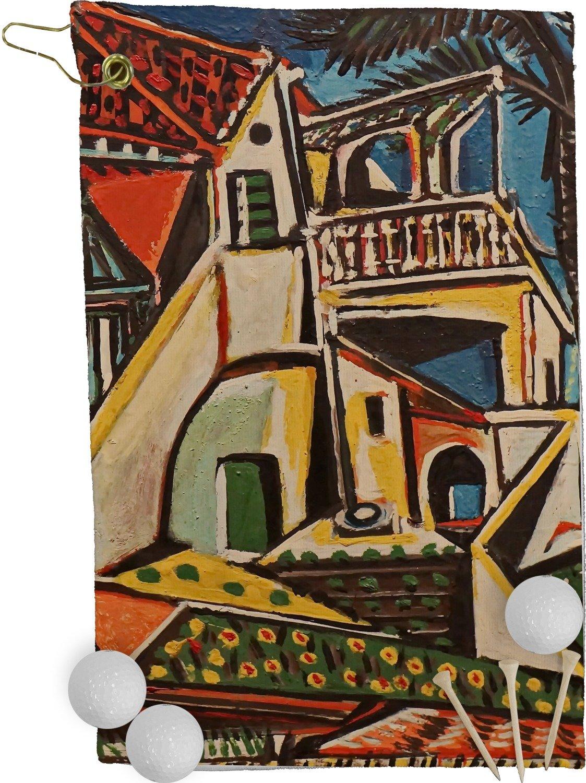 地中海風景by – B076ZRXD82 Pablo Picassoゴルフタオル – フル印刷 フル印刷 B076ZRXD82, 杉の家:b63dc4d0 --- lindauprogress.se