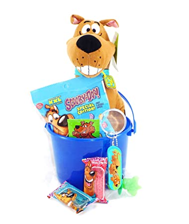 Amazoncom Scooby Doo Mystery Gang Candy And Gift Basket With