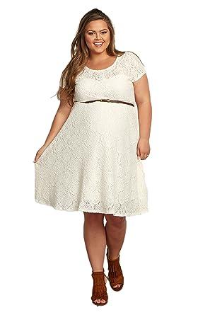 White Maternity Plus Size Dresses