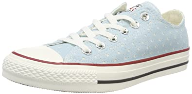 a419a0a1b43 Converse Adults  CTAS Ox Ocean Bliss Garnet Trainers  Amazon.co.uk ...