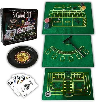 Roulette Niños y Adultos Ruleta Game Set Juego de apuestas - Juego de Tablero: Amazon.es: Juguetes y juegos