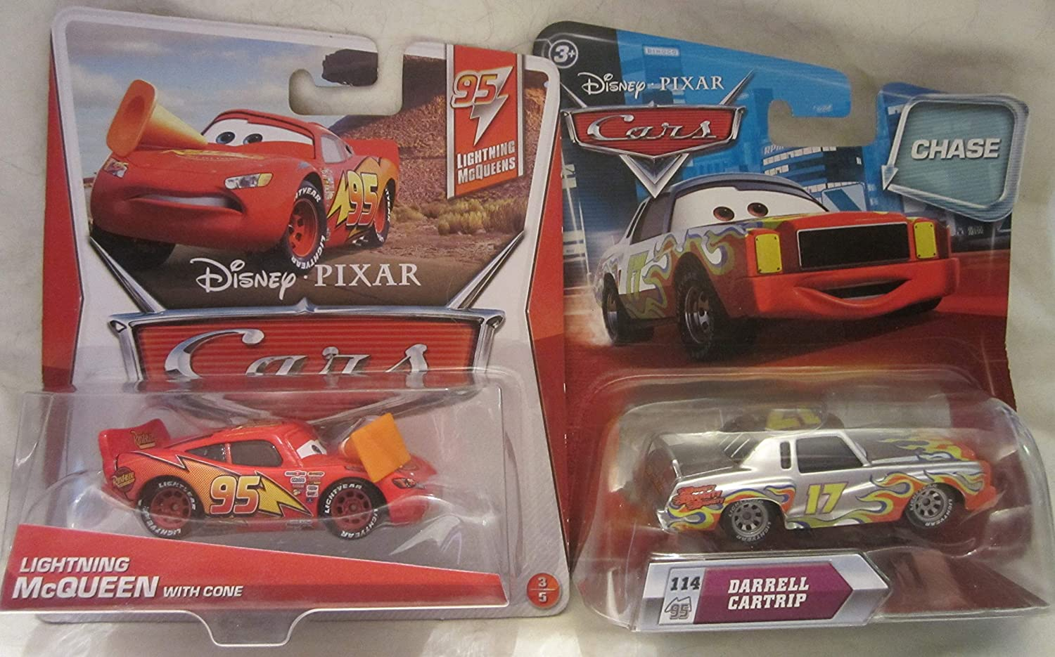 """DISNEY CARS Combined Postage /""""Lightning McQueen With Cone/"""""""