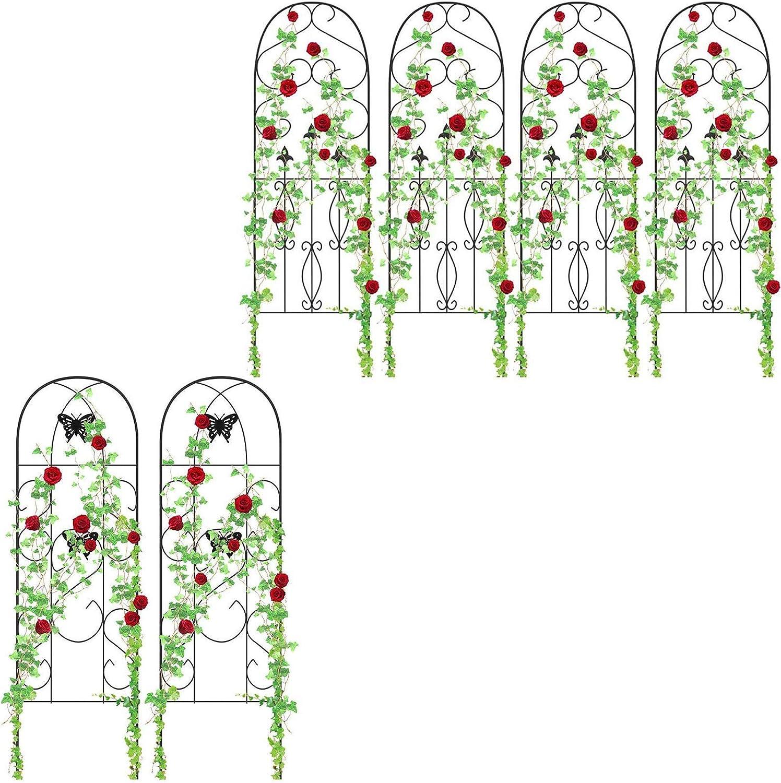 """Amagabeli 4 Pack Garden Trellis 60"""" x 18"""" Bundle 2 Pack 60"""" x 18"""""""