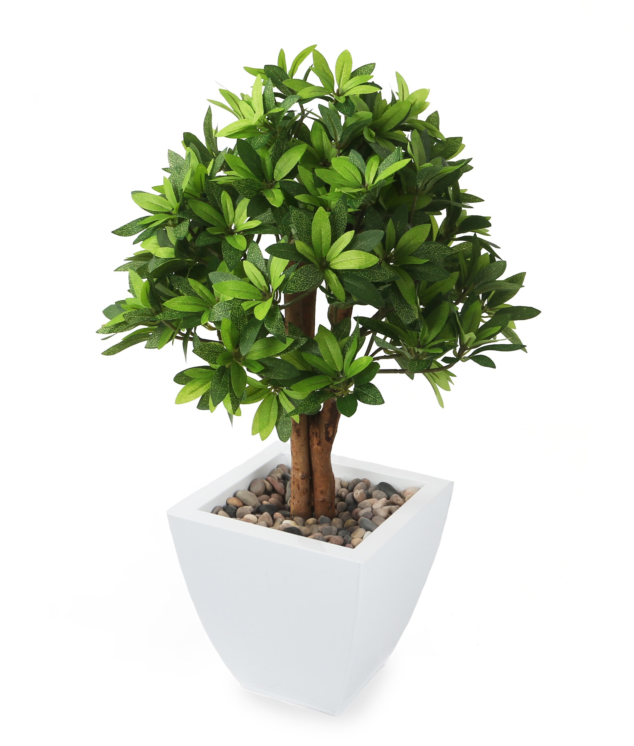 Closer to Nature Artificial 1ft 7'' Japanese Mock Orange Tree - Artificial Silk Plant and Tree Range by Closer2Nature