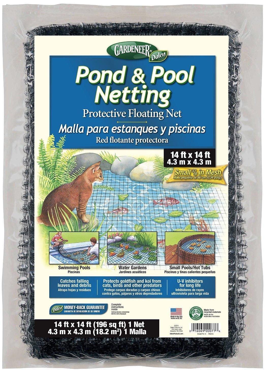Dalen Gardeneer 14-Foot x 14-Foot Pond & Pool Netting PN-14(2Pack)