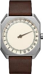 slow Jo 17 - Swiss Made one-hand 24 hour watch -