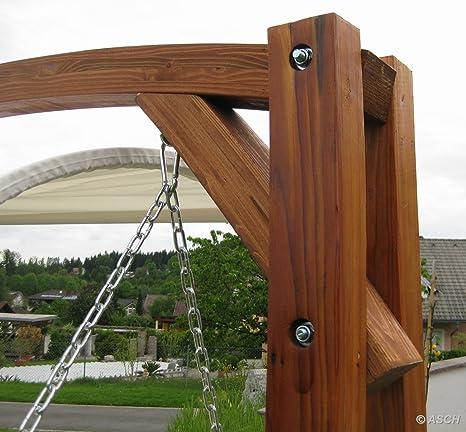 Diseño oscilación del jardín porche columpio hamaca modelo de ...