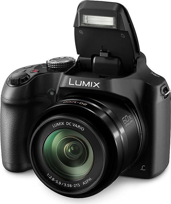 passgenaue equipster Folie mit Schultergurt Zubeh/ör Starterset f/ür Panasonic Lumix DC-FZ82 Schicke Kamera Tasche