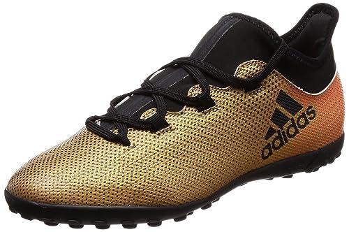 Adidas X Tango 17.3 TF J, Botas de fútbol Unisex Adulto, Amarillo (Ormetr/Negbas/Rojsol 000), 38 2/3 EU: Amazon.es: Zapatos y complementos