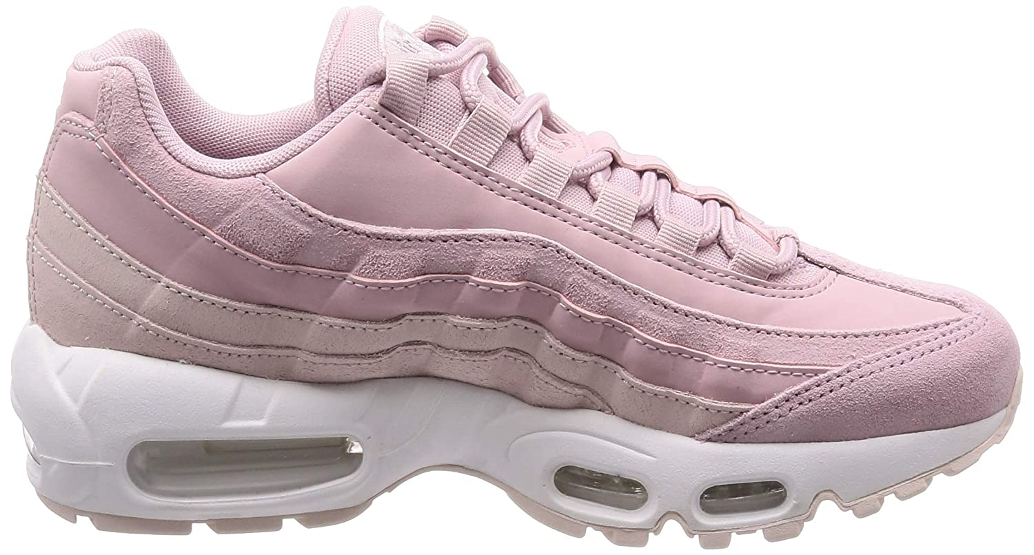 Womens Nike Air Max 95 PRM 807443 503 Plum ChalkBarely Rose NEW Size 9.5 | eBay