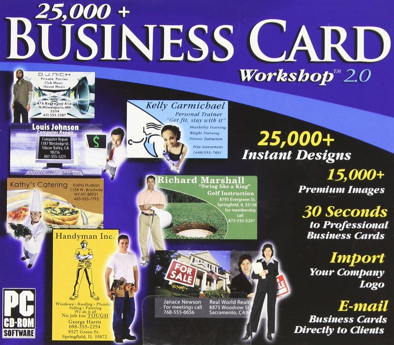 Amazon 25 000 Business Card Workshop 2 0 Jewel Case Software